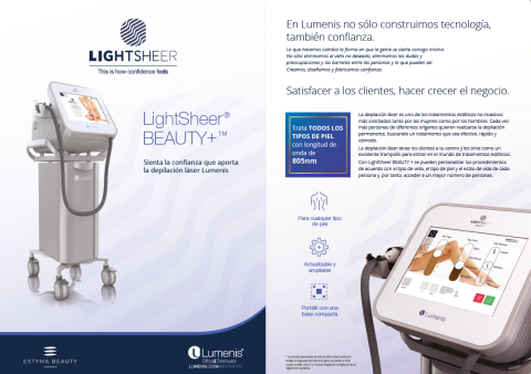 catalogo lightsheer beauty